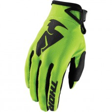 THOR RĘKAWICE MODEL YOUTH SECTOR GLOVE KOLOR LIMONKOWY