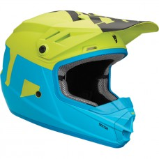 KASK THOR JUNIOR LEVEL ELECTRIC NIEBIESKI/LIMONKOWY
