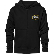 BLUZA THOR MODEL SCRIPT ZIP-UP KOLOR CZARNY